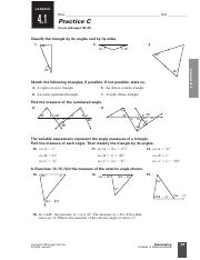 Chapter 4.1 Tiangle Sum & Exterior Angle Theorems Worksheet.pdf