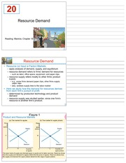 LECTURE 20 - 20_Resource_Demand - FINAL (CHAPTER 18)