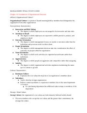 MANAGEMENT FINAL STUDY GUIDE- Chapter 16.docx