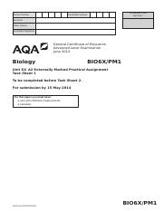 AQA-BIO6X-PM1-JUN14