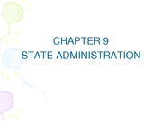 state admin