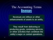 The Accounting Terms (presentation)