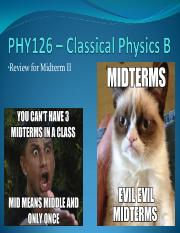 11 - Midterm II Review