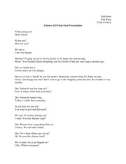Final oral presentation script