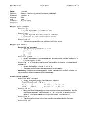 Chapter 1 - Sample Lab Report