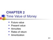 Chapter 02_TimeValueMoney