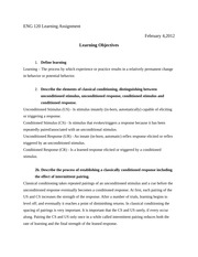 ENG 119 Learning Assignment 1
