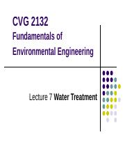 Lecture7-Water Treatment.ppt