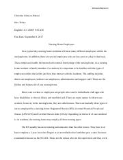 Science And Technology Essay  Pages Classification Essaydocx High School Personal Statement Essay Examples also Thesis Statement Narrative Essay Comp   Freshman Comp I  Eastern Oklahoma State College  Making A Thesis Statement For An Essay