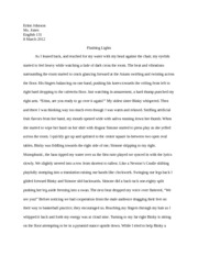 English Paper Descriptive Essay