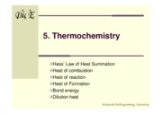 7-Thermochemistry