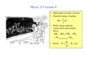 PHY231 lecture8