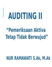 AUDITING II NR 6.ppt