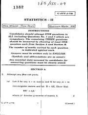 (www.entrance-exam.net)-Indian Statistical Service Sample Paper 4