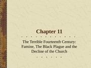 Chapter11_Lecture_Terrible_14th_Century