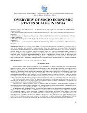 OVERVIEW OF SOCIO ECONOMIC STATUS SCALES IN INDIA.pdf