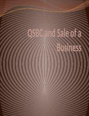 (14) QSBC and Sale of a Business.pptx
