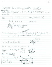 PHYS 507 Lecture 3 Notes