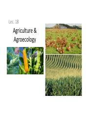 ENST100_Lecture18_Agriculture and Agroecology.pdf
