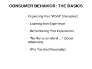 301_FALL_2014_CONSUMER BEHAVIOR_II_Social Influences_Personality