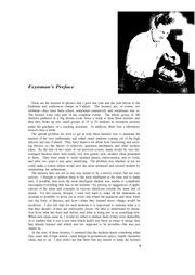 Feynman Physics Lectures V1 Ch00 Preface