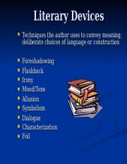 Literary Devices 2010.2011.ppt