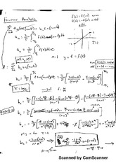Fourier Analysis 2 Notes