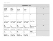 CH204 Fall calendar of assignments final 2010