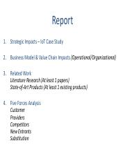 Report No. 2 - Business Analytics & Internet of Things.pdf