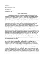 Healing and Reconciliation Paper