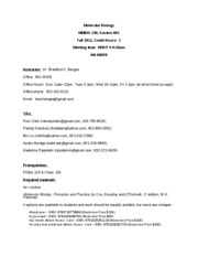MMBIO 240 syllabus Fall 2011