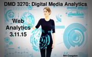 Web Analytics Lecture