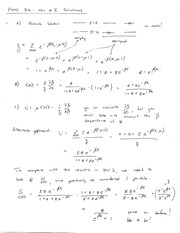 Homework E Solutions on Thermal Physics