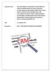 Ind Assignment Customer Relationship Management 27 01 15