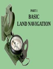 LAND NAVIGATION Part 1.ppt