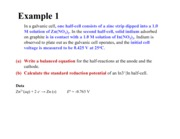 Lecture 24 & 25-Standard Electrode Potentials and Nernst equation