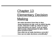 ch13elementarydecisionmaking.studentsview