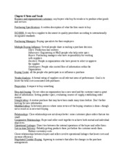 Chapter 6 Notes and Vocab