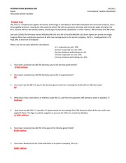 International_Taxation_Worksheet_Fall_2011_Answer_Key_SP11