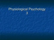 PhysiolPsychLecture 3