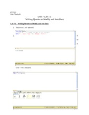 pt 2520 exploring programming languages Unit 1 research assignment 1 exploring programming languages pt 2520 sql was introduced by ibm in the 1970 the first company to implement sql commercially was oracle.