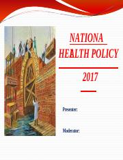 national health policy 2017.pptx