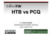 HTB vs PCQ