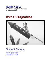 04_Projectiles_Student_Papers