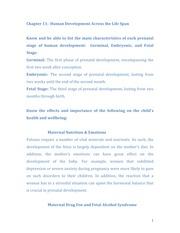 chapter 11 human development across the Study human development across the life span flashcards at proprofs - flashcards for 1st psychology midterm related flashcards development across the life span- feldman chapter 1.