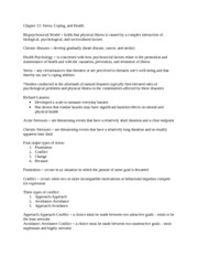 PSY 205 - chapter 13 notes