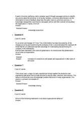 quiz 4 busi 610 Liberty university busi 340 quiz 4 complete solutions correct answers key(blank) is the tendency to experience stronger negative emotions when losing something of value than the positive.
