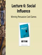 Lecture 6 Persuasion Card Talk 2