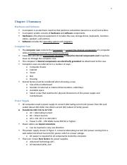 CIT-210 Chapter 1 Notes