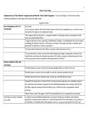 2 - Employment Laws That Influence Compensation Tactics Study Guide_Assignment